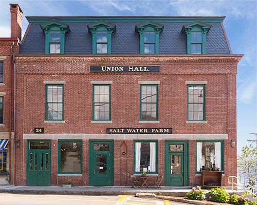 Union Hall Coastal Maine Wedding Venue